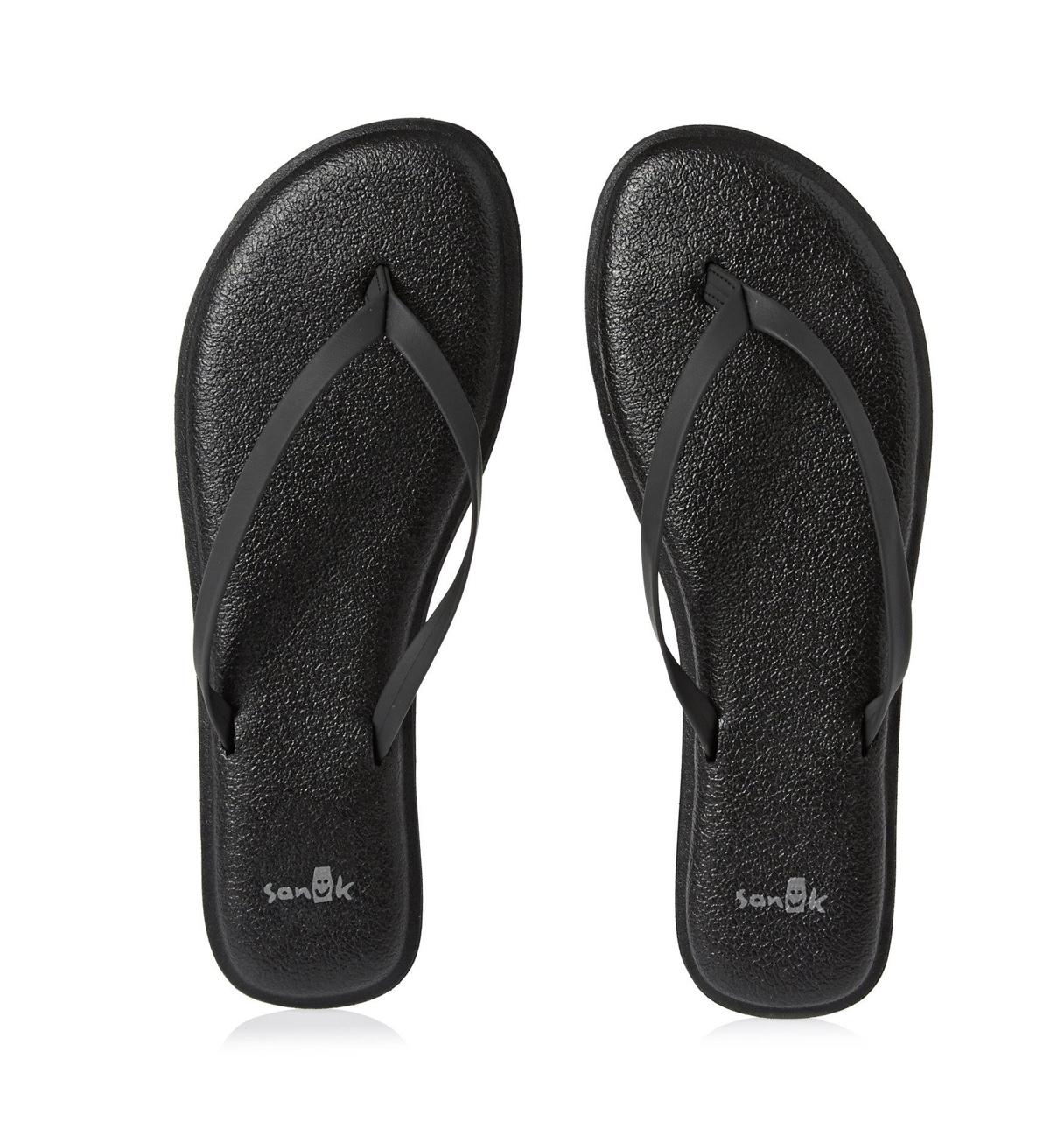 SANUK YOGA BLISS BLACK - 6th Street Fashions & Footwear ...